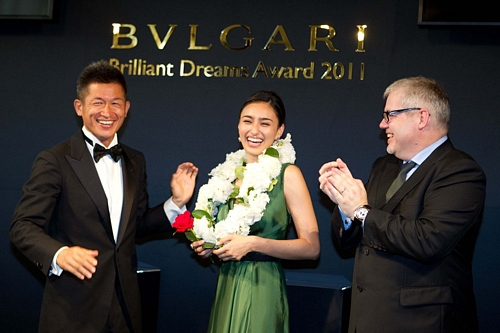 BVLGARI Brilliant Dreams Award 2011BVLGARI Brilliant Dreams Award 2011BVLGARI Brilliant Dreams Award 2011