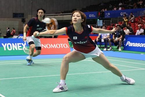 2011 Badminton YONEX Japan Openヨネックスオープン2011 イケシオ、初戦敗退