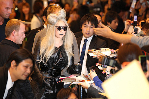 Lady Gaga Arrives in JapanLady Gaga Arrives in JapanLady Gaga Arrives in JapanLady Gaga Arrives in Japan