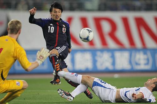 KIRIN Challenge Cup 2012: Japan 3-1 Iceland