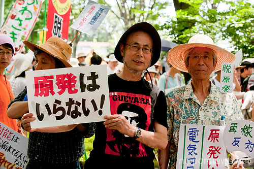 "Sayonara Nukes ""100,000 People's Call to Abolish All Nuclear Power Plants"""