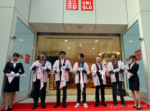 BicQlo grand opening in Shinjuku