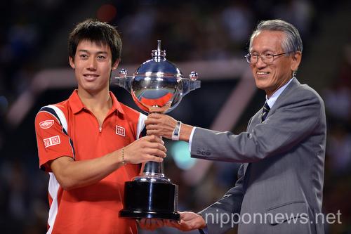 Kei Nishikori Wins Rakuten Japan Open Tennis Championships 2012