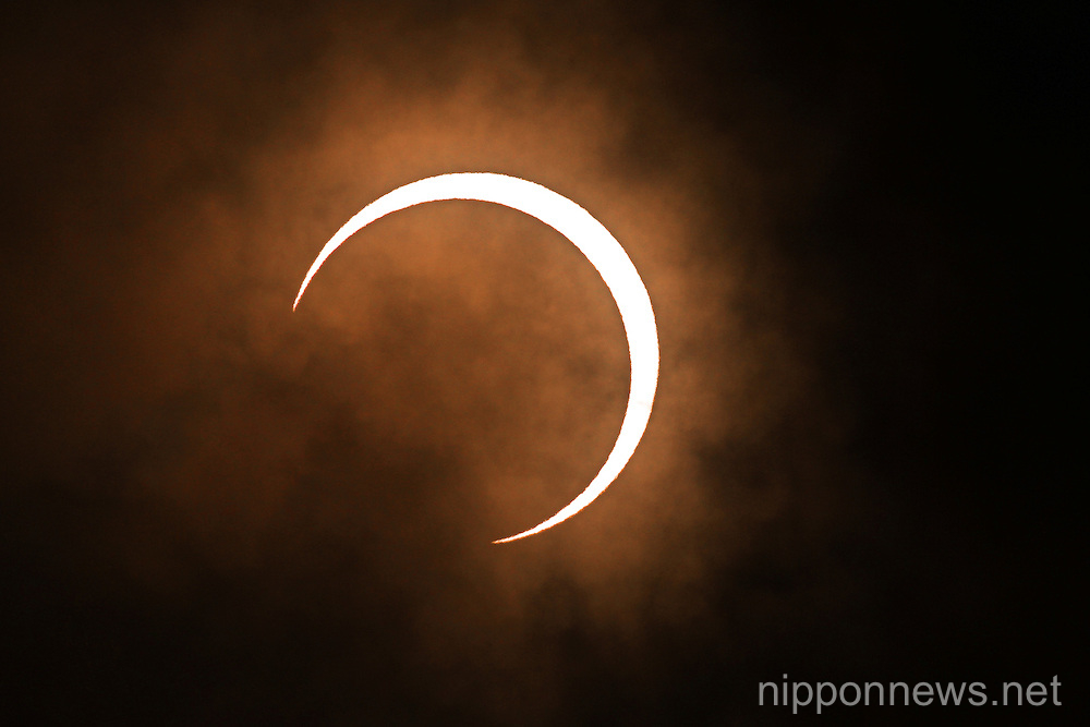 Japan Annular Solar Eclipse