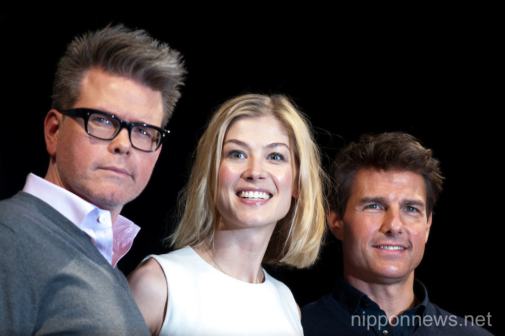 ''Jack Reacher'' Press Conference in Tokyo