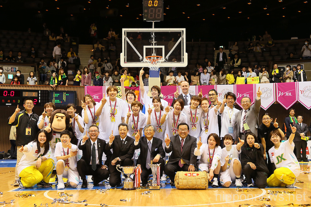 The 14th Women's Japan Basketball League Playoffs Final Game #4: Toyota Antelopes 61-72 JX Sunflowers