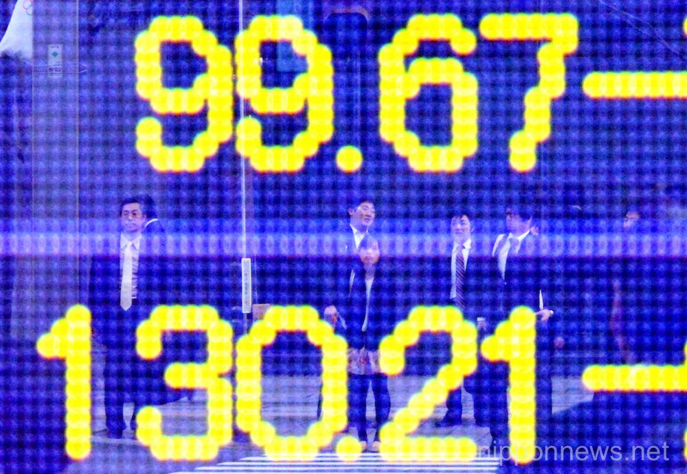 Tokyo Foreign Exchange Market on Thursday, April 11, 2013