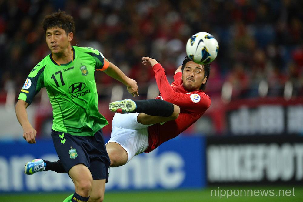 Football/Soccer: AFC Champions League 2013 Group F - Urawa Reds 1-3 Jeonbuk Hyundai Motors FC