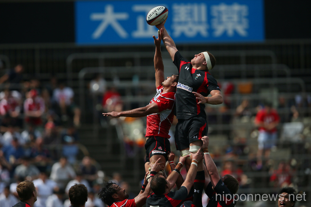 Rugby: Lipovitan D Challenge 2013 - Japan 23-8 Wales