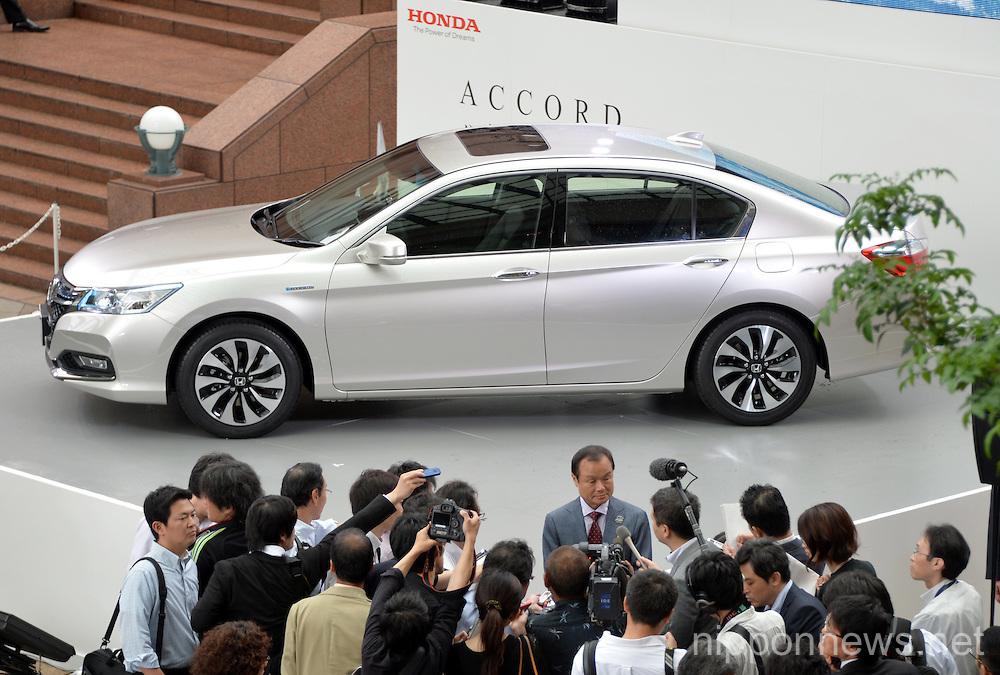 Honda Motor Co. introduces all-new Honda Accord Hybrid