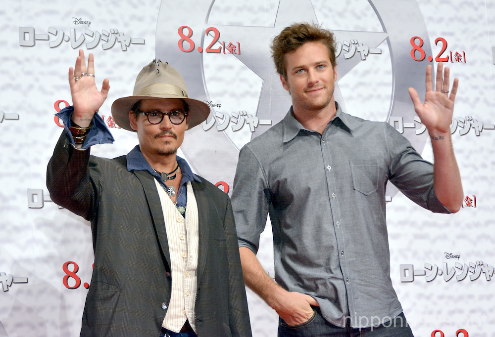 The Lone Ranger Press Conference in Tokyo