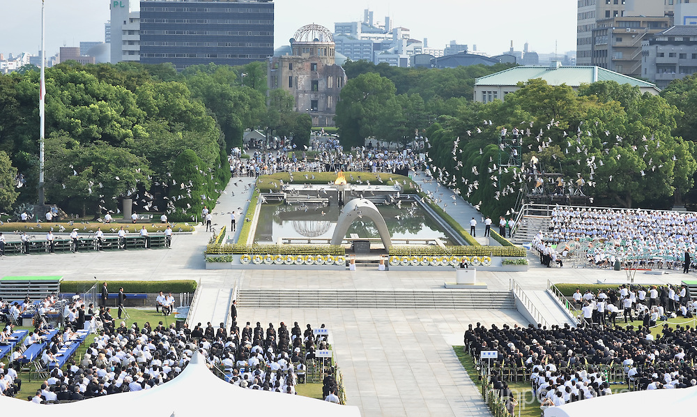68th Anniversary of the Atomic Bombing Of Hiroshima