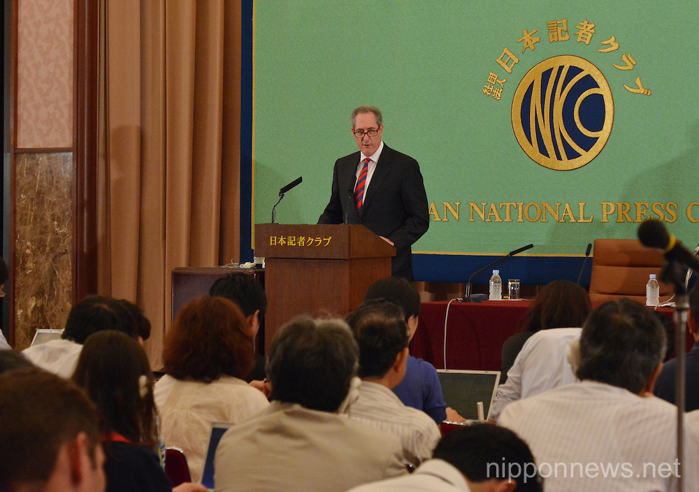 Michael Froman News Conference at the Japan National Press ClubMichael Froman News Conference at the Japan National Press ClubMichael Froman News Conference at the Japan National Press ClubMichael Froman News Conference at the Japan National Press ClubMichael Froman News Conference at the Japan National Press Club