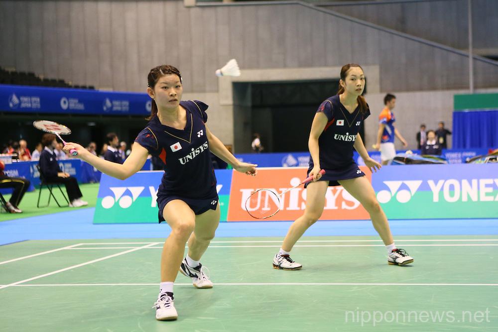 Badminton: Yonex Open Japan 2013