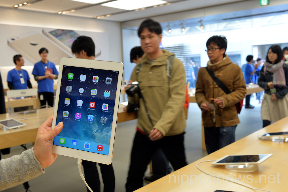 The new iPads go on sale in Japan