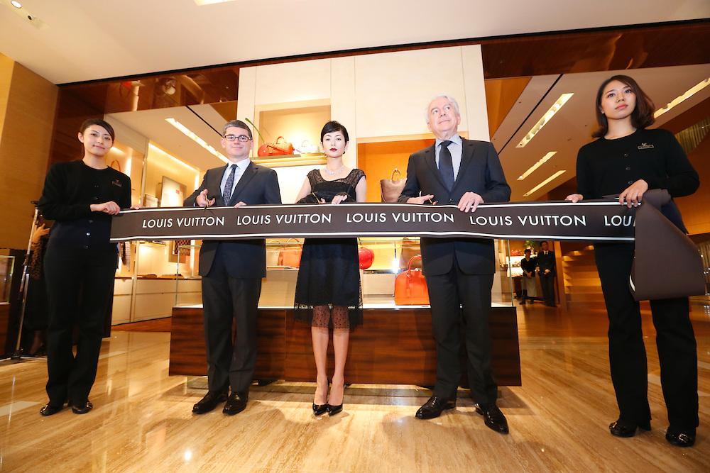 Louis Vuitton Shinjuku store opening ceremony