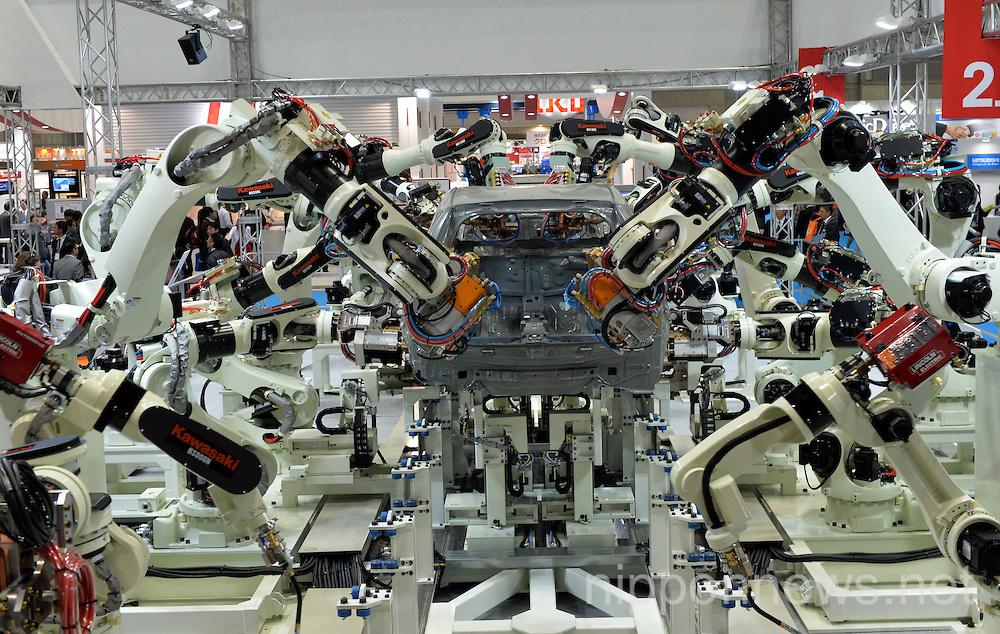 International Robot Exhibition in Tokyo