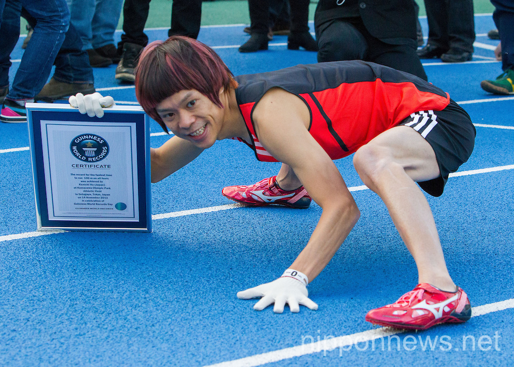 Kenichi Ito of Japan World Record Fastest Man on All Four Limbs