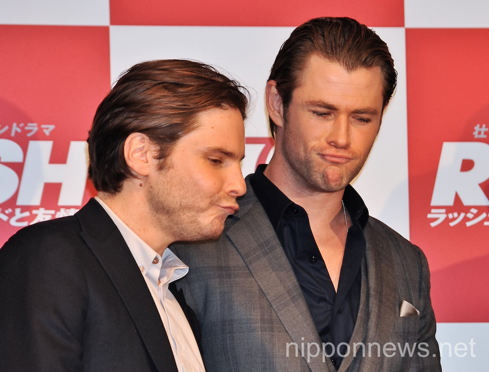Rush movie press conference in Tokyo
