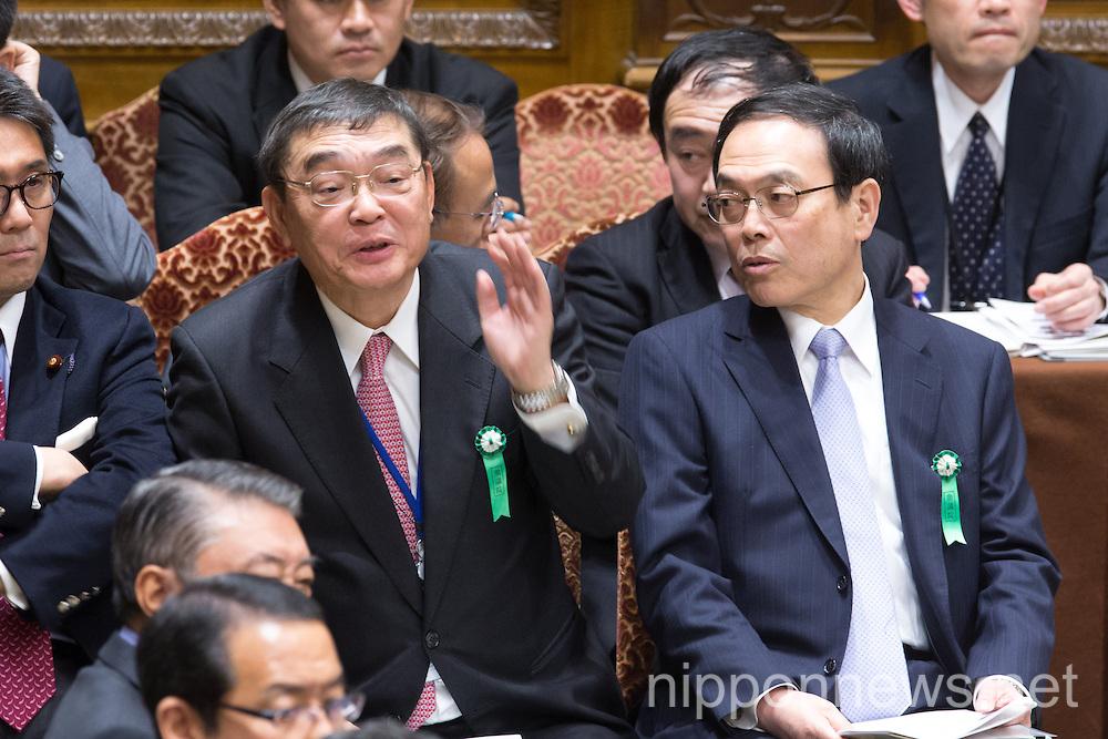 Diet Lower House Budget Committee Debate