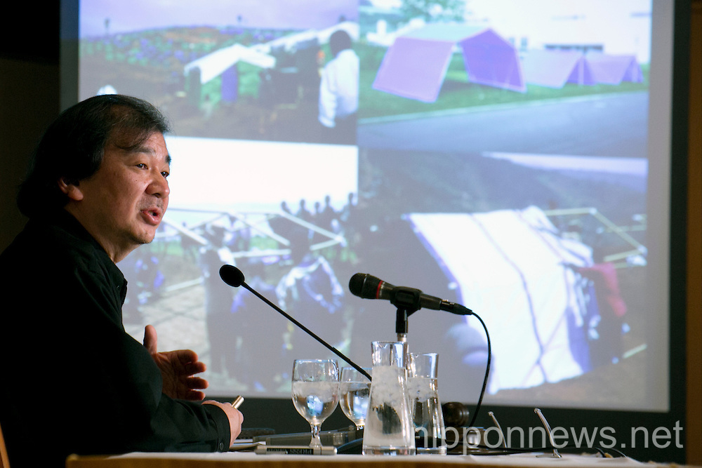 Shigeru Ban Speaks at the Foreign Correspondents' Club of JapanShigeru Ban Speaks at the Foreign Correspondents' Club of JapanShigeru Ban Speaks at the Foreign Correspondents' Club of JapanShigeru Ban Speaks at the Foreign Correspondents' Club of JapanShigeru Ban Speaks at the Foreign Correspondents' Club of Japan