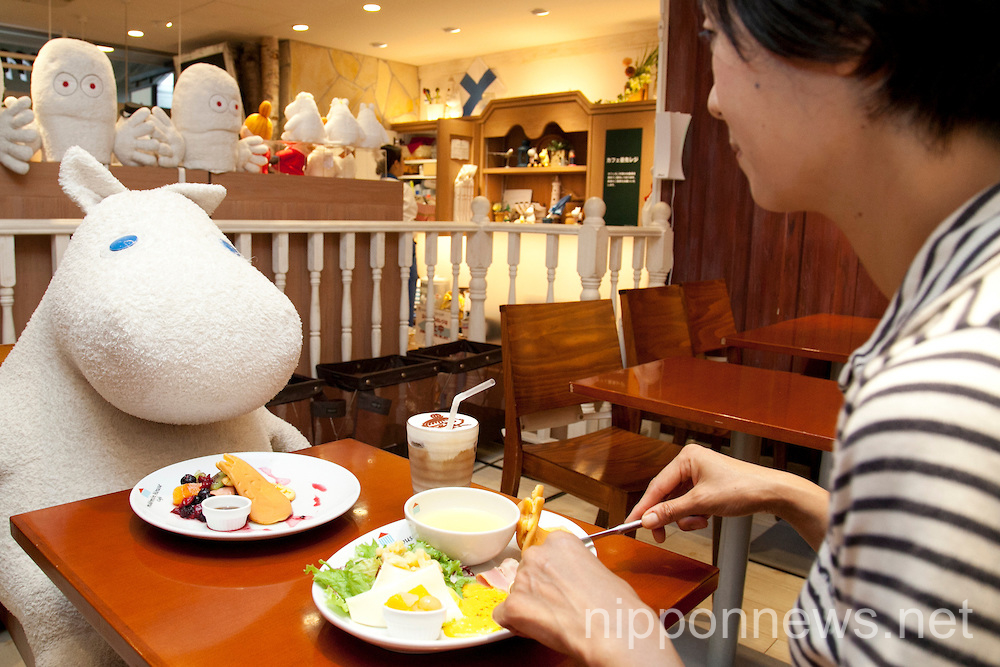 Moomin House Cafe in TOKYO SKYTREE
