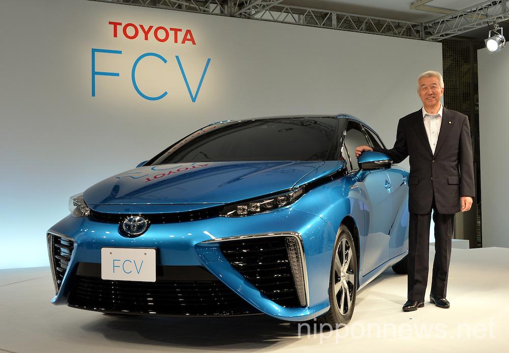 Toyota progresses on hydrogen fuel cell vehicle development