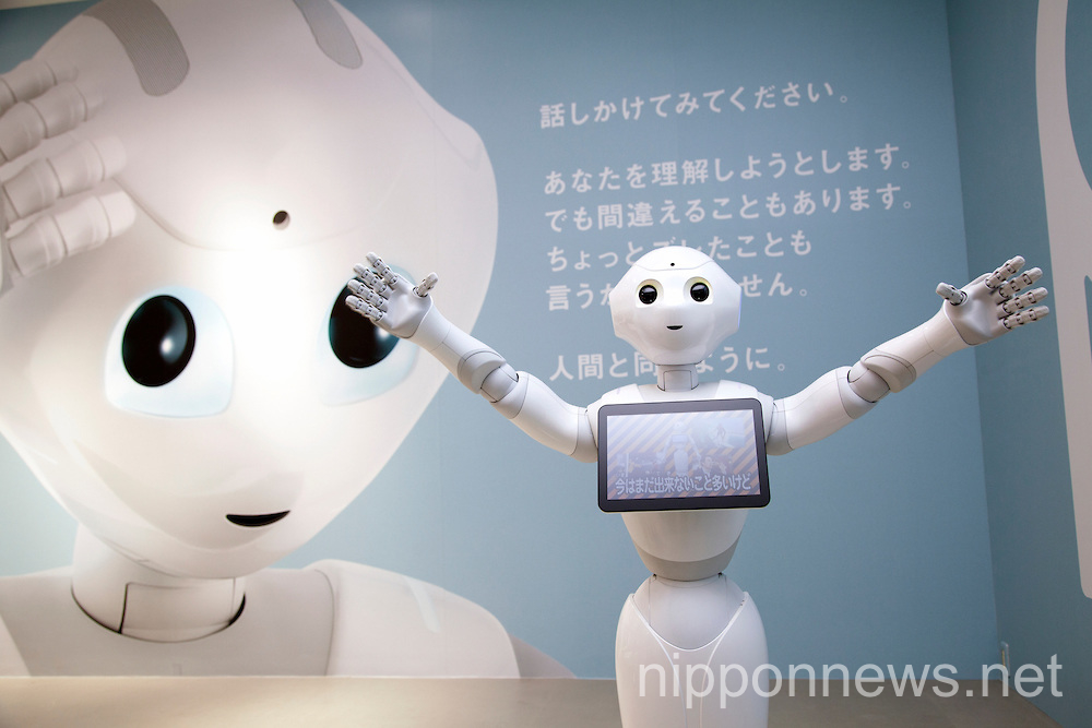 Pepper the Personal Robot on Sale in Japan Next Year