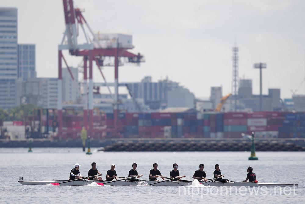 Rowing: Odaiba regatta 2014