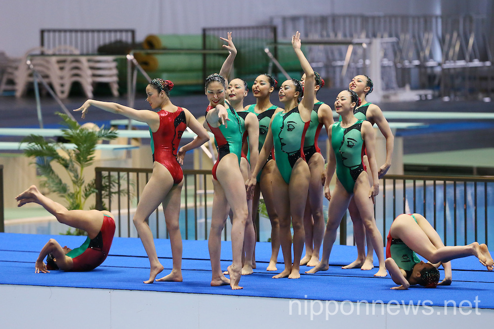 Synchronised Swimming: Japan Synchro Challenge Cup 2014