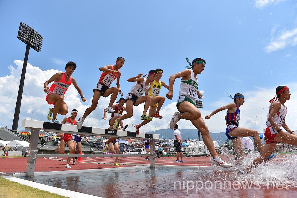 Athletics: All-Japan Inter High School Championships 2014