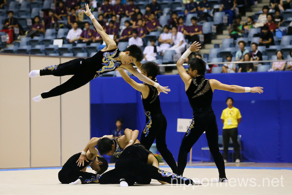 Rhythmic Gymnastics: All-Japan Inter High School Championships 2014