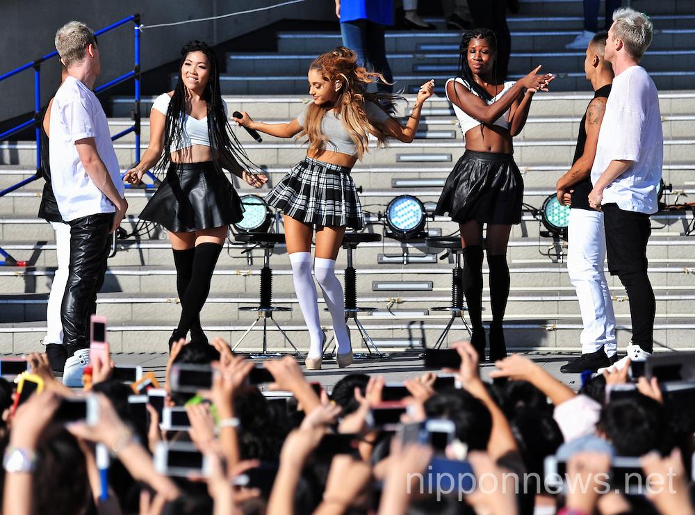"Singer Ariana Grande Performs Album ""My Everything"""