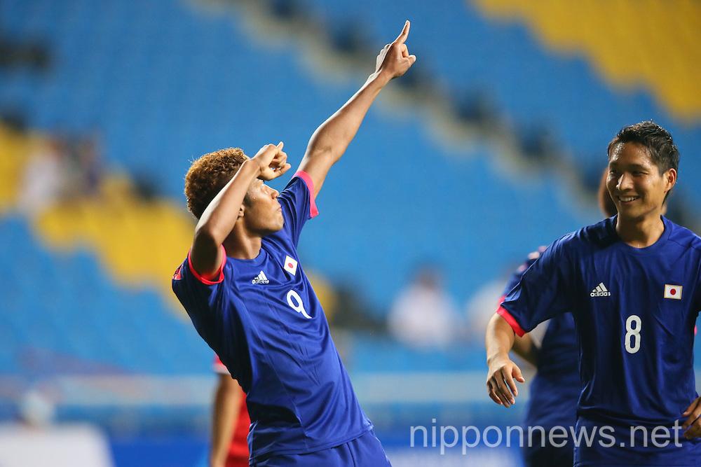 Football/Soccer: 2014 Incheon Asian Games - Japan 4-1 Kuwait