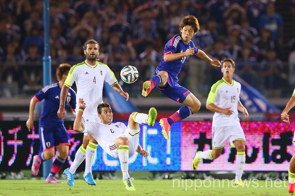 Football/Soccer: KIRIN Challenge Cup 2014 - Japan 2-2 Venezuela