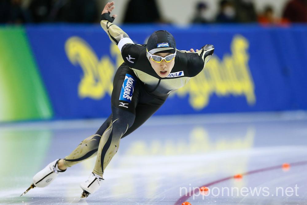 Speed Skating: ISU World Cup Speed Skating 2014/15 - Obihiro