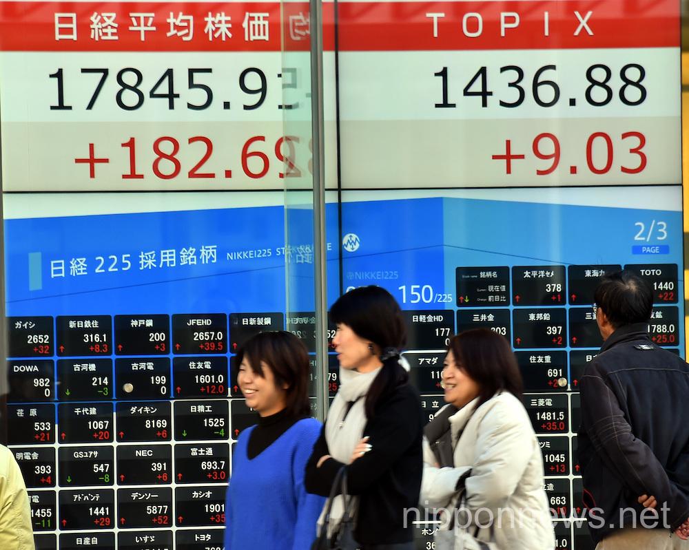 7 Year High Dollar Boosts Japan Stocks