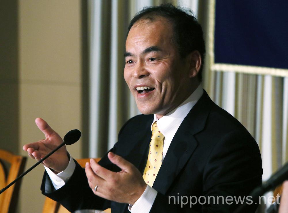 Nobel Prize Winner Shuji Nakamura visits Tokyo's Foreign Correspondents' Club