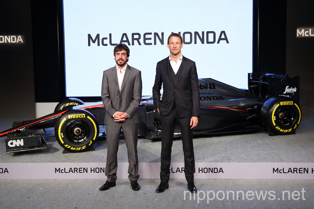 Honda Showcases McLaren Honda MP4-30