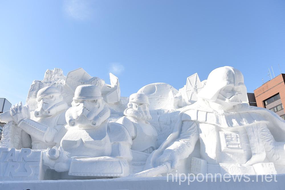 66th Sapporo Snow Festival 2015