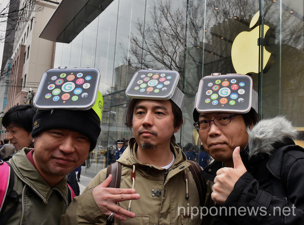 Apple Watch Goes on Display in Japanese Stores