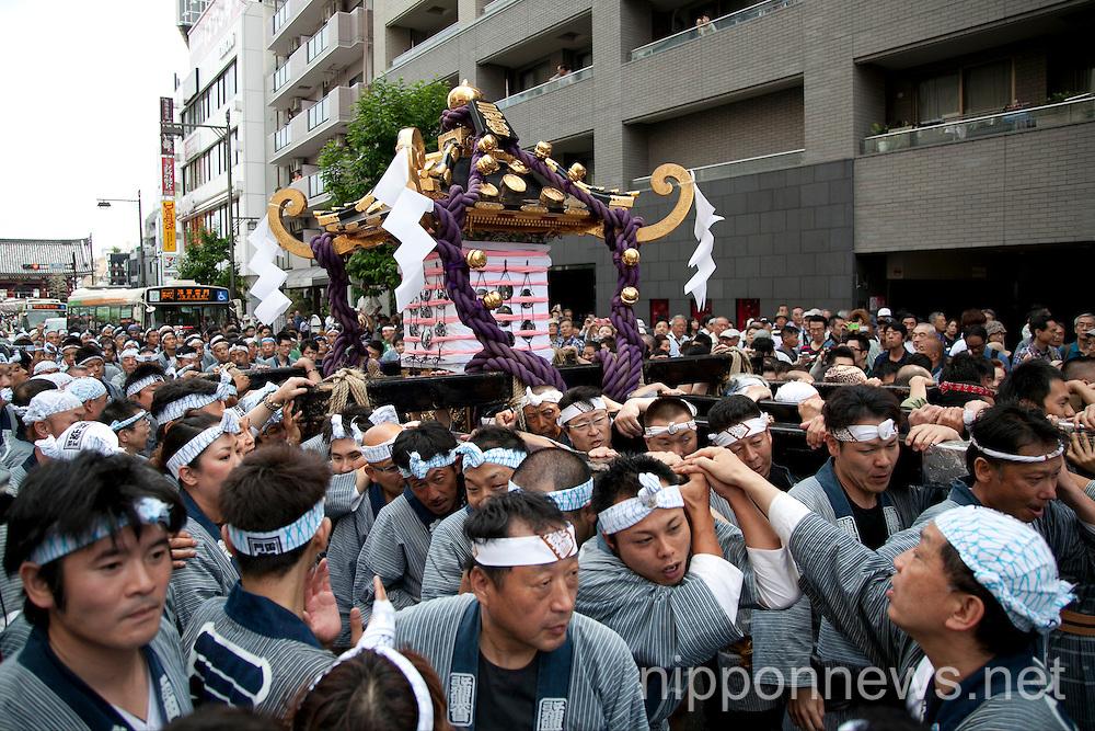 Asakusa Celebrates the Sanja Festival