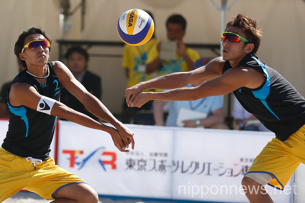 Beach Volleyball: Odaiba Beach Sports Festival 2015