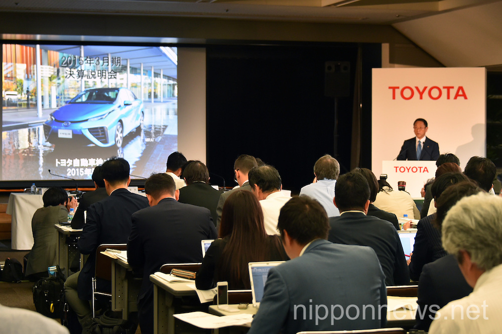 Toyota Motor Corp. Announces Financial Results for FY2014