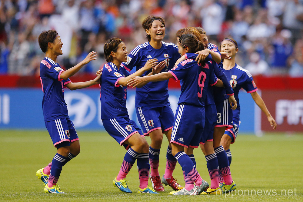 FIFA Women's World Cup Canada 2015 Round of 16  : Japan 2-1 Holland