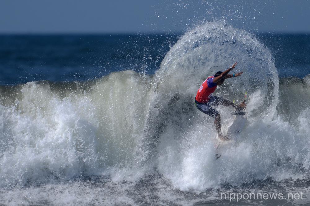 I Made Rondi (IDN),  JULY 15, 2015 - Surfing : World Surf League (WSL) Qualifying Series, Murasaki Sports Presents Shonan Open at Kugenuma Kaigan, Kanagawa, Japan. (Photo by AFLO SPORT)