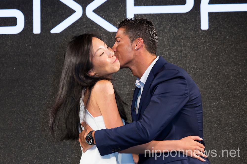 Cristiano Ronaldo in Japan