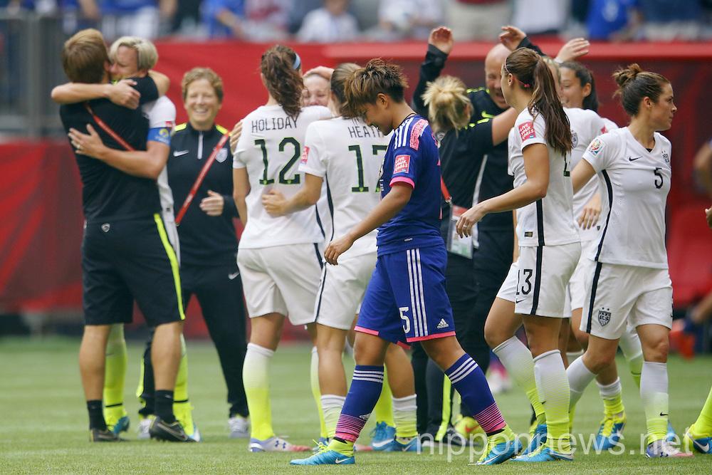 FIFA Women's World Cup Canada 2015 : Final :  Japan 2-5 USA