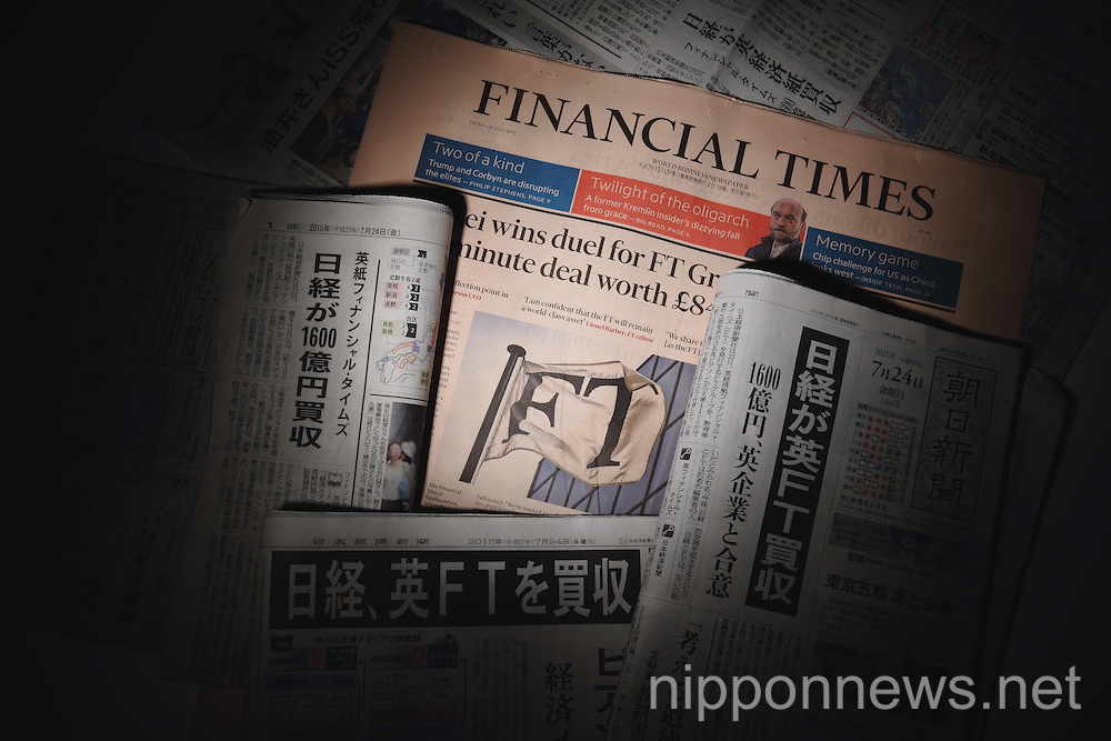 Nikkei media group to buy Financial Times
