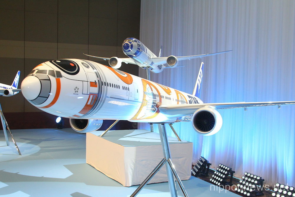 Star Wars Themed Airplanes Introduced by ANA